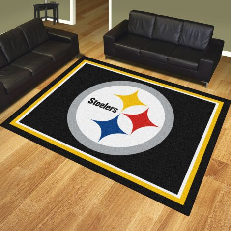 Pittsburgh Steelers MLB 8x10 Plush Rugs