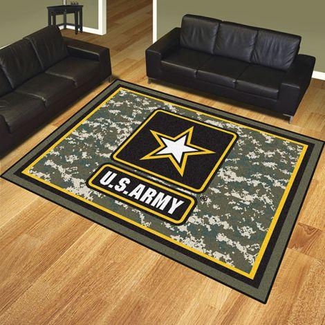 U.S. Army 8x10 Plush Rug
