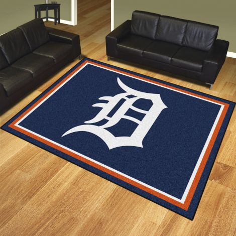 Detroit Tigers MLB 8x10 Plush Rugs