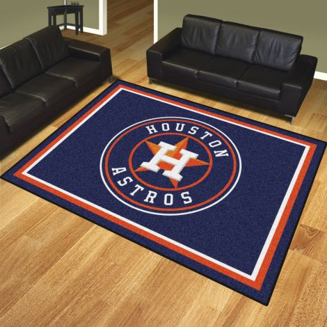 Houston Astros MLB 8x10 Plush Rugs