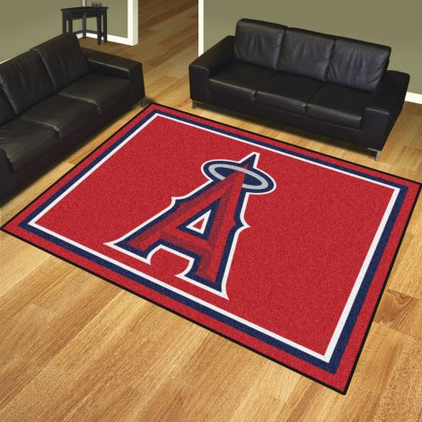 Los Angeles Angels MLB 8x10 Plush Rugs