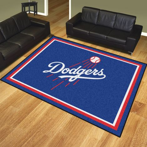 Los Angeles Dodgers MLB 8x10 Plush Rugs