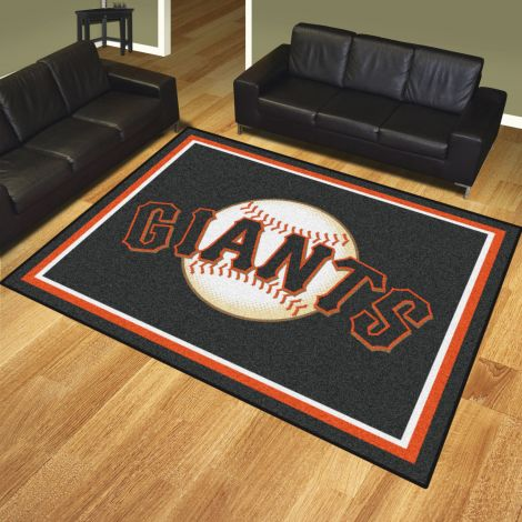 San Francisco Giants MLB 8x10 Plush Rugs