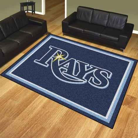 Tampa Bay Rays MLB 8x10 Plush Rugs