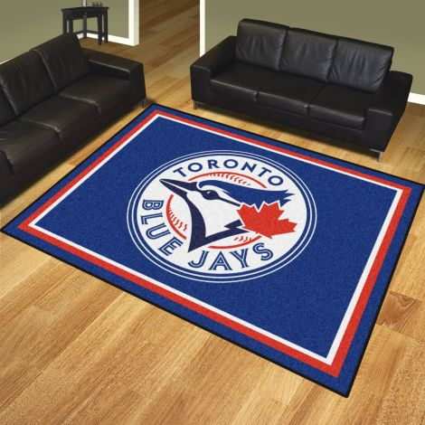 Toronto Blue Jays MLB 8x10 Plush Rugs