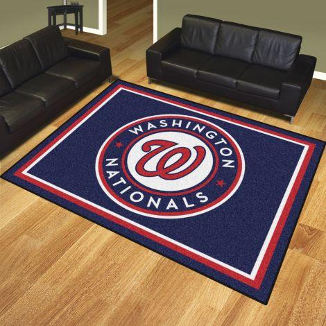 Washington Nationals MLB 8x10 Plush Rugs