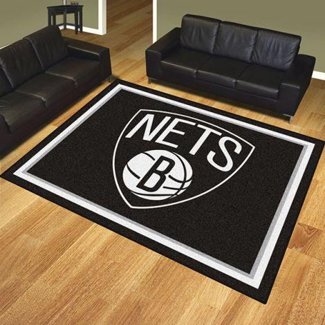 Brooklyn Nets NBA 8x10 Plush Rug