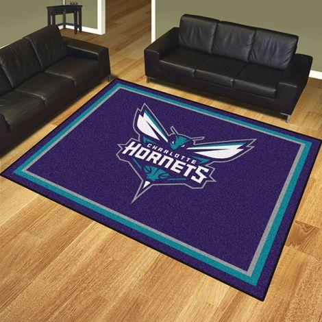 Charlotte Hornets NBA 8x10 Plush Rug