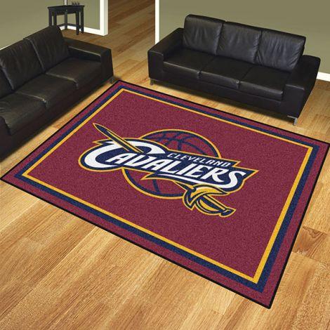 Cleveland Cavaliers NBA 8x10 Plush Rug