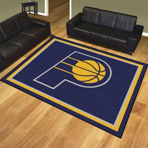 Indiana Pacers NBA 8x10 Plush Rug
