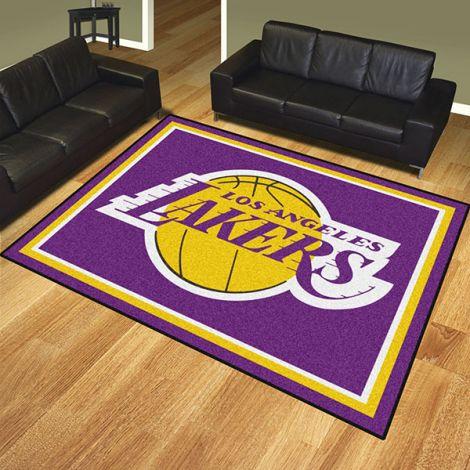 Los Angeles Lakers NBA 8x10 Plush Rug