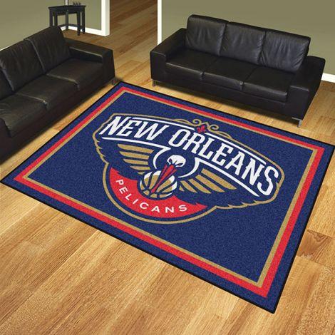 New Orleans Pelicans NBA 8x10 Plush Rug