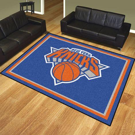 New York Knicks NBA 8x10 Plush Rug