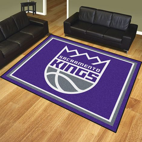 Sacramento Kings NBA 8x10 Plush Rug