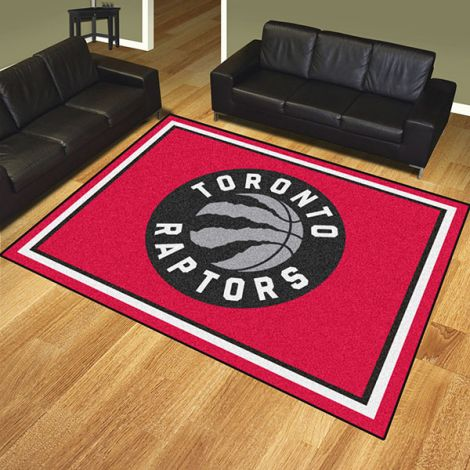 Toronto Raptors NBA 8x10 Plush Rug