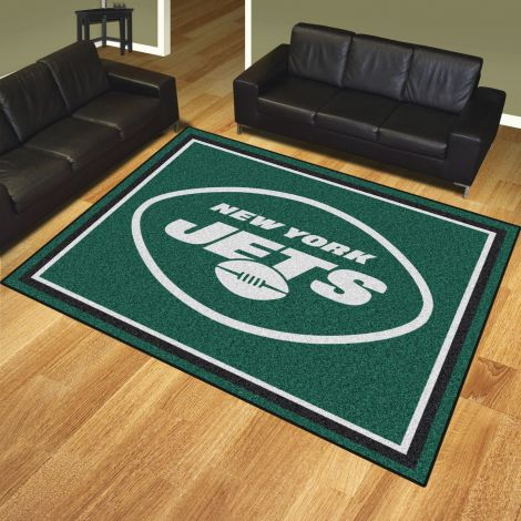 New York Jets MLB 8x10 Plush Rugs