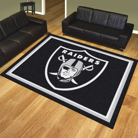 Oakland Raiders MLB 8x10 Plush Rugs
