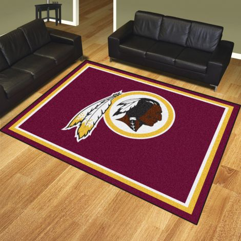 Washington Redskins MLB 8x10 Plush Rugs