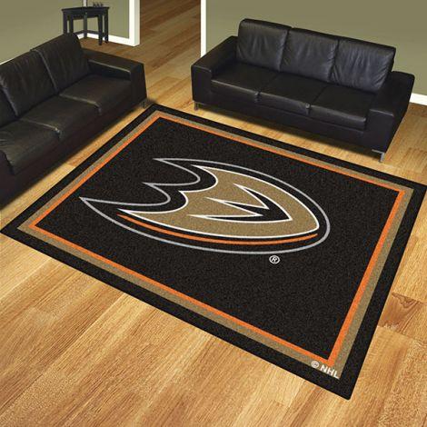 Anaheim Ducks NHL 8x10 Plush Rug
