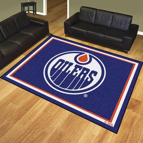 Edmonton Oilers NHL 8x10 Plush Rug
