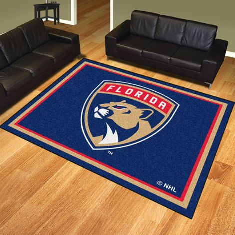 Florida Panthers NHL 8x10 Plush Rug