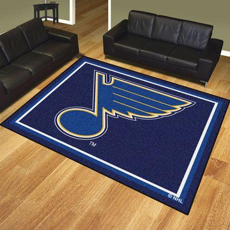 St. Louis Blues NHL 8x10 Plush Rug
