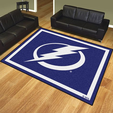 Tampa Bay Lightning NHL 8x10 Plush Rug