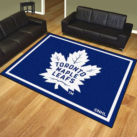Toronto Maple Leafs NHL 8x10 Plush Rug