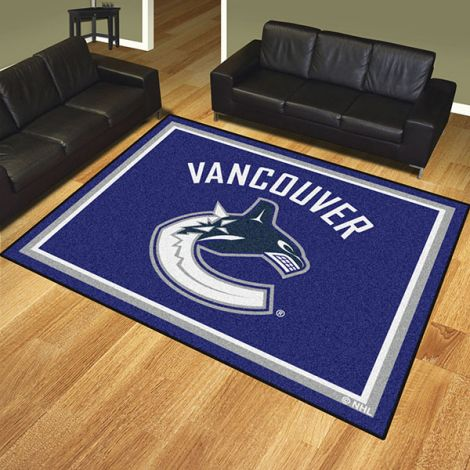 Vancouver Canucks NHL 8x10 Plush Rug