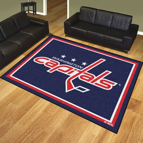 Washington Capitals NHL 8x10 Plush Rug