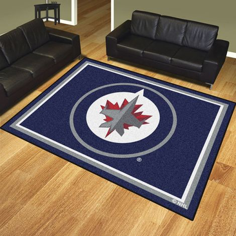 Winnipeg Jets NHL 8x10 Plush Rug