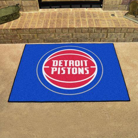 Detroit Pistons NBA All Star Mat