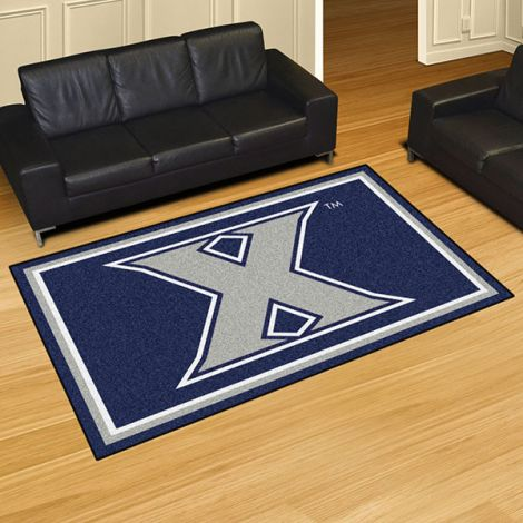 Xavier University Collegiate 5x8 Plush Rug