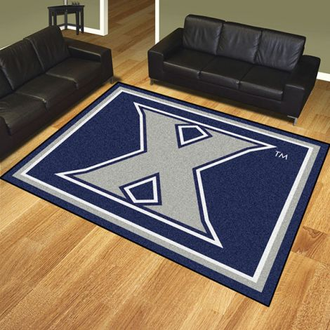 Xavier University Collegiate 8x10 Plush Rug