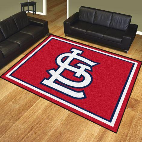 St. Louis Cardinals MLB 8x10 Plush Rugs