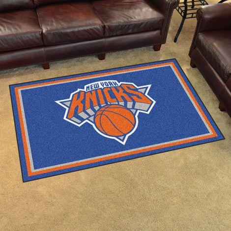 New York Knicks NBA 4x6 Plush Rug
