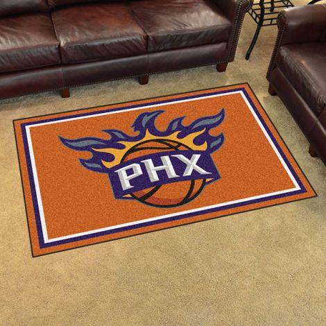 Phoenix Suns NBA 4x6 Plush Rug