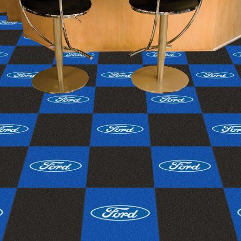 Boss 302 Black Ford Team Carpet Tiles