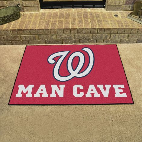 Washington Nationals MLB Man Cave All-Star Mats