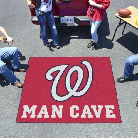Washington Nationals MLB Man Cave Tailgater Mats