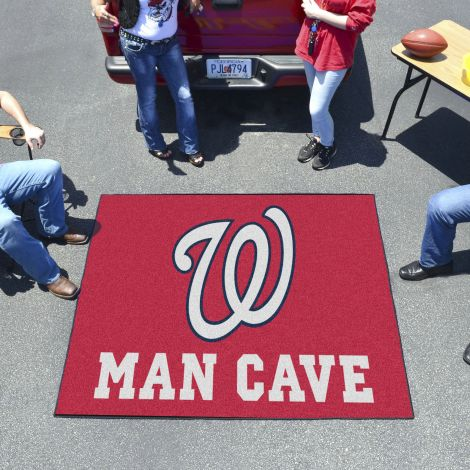 Washington Nationals MLB Man Cave Ultimat Rectangular Mats