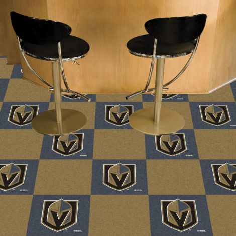 Vegas Golden Knights NHL Team Carpet Tiles