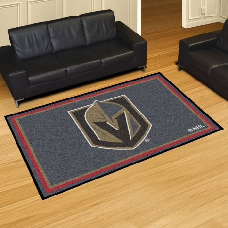 Vegas Golden Knights NHL 5x8 Plush Rug