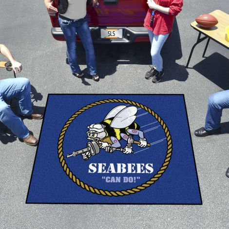 U.S. Navy Seabees Tailgater Mat