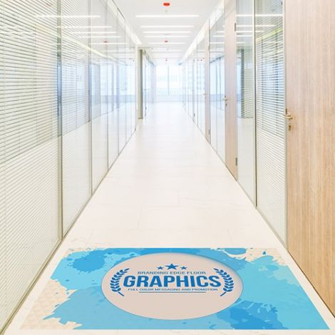 Computer Dyed Promotional Floor Graphics