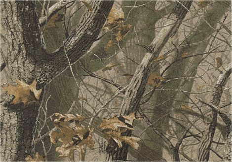 Hardwoods Realtree Collection Area Rug
