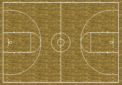 Hoopster Theme Rugs 2 Collection Area Rug