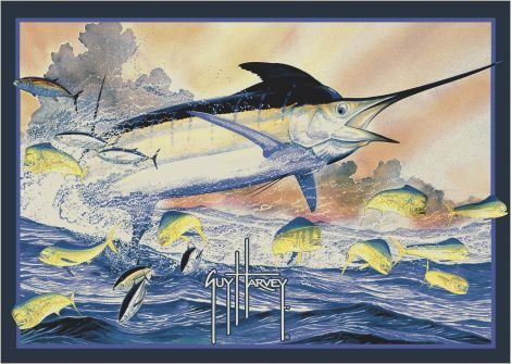 Marlin Guy Harvey Collection Area Rug