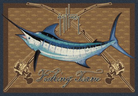 Marlin Multi Guy Harvey Collection Area Rug