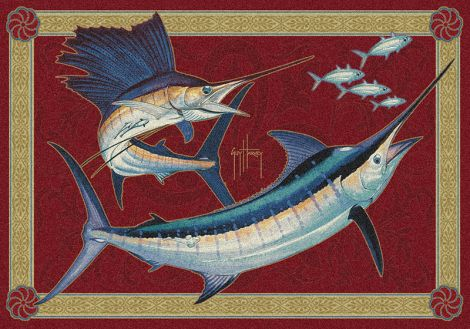 Mini Slam Guy Harvey Collection Area Rug